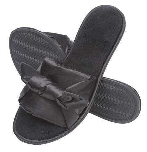 Roxoni Fashion Women Slippers, Rhinestone Glitter Sequin Studded Metallic Thong Flip Flops Flat Shoes