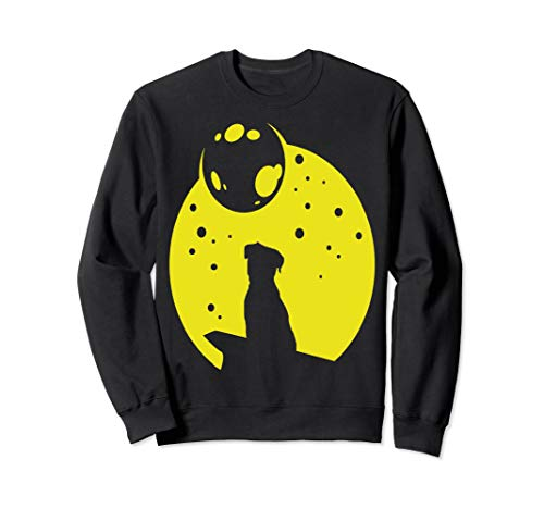 Border Terrier Eclipse Full Moon Sweatshirt -