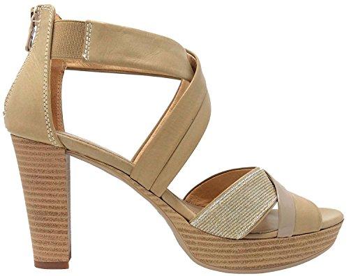 Nero Giardini 717551D Camel, Sandalias, Mujer