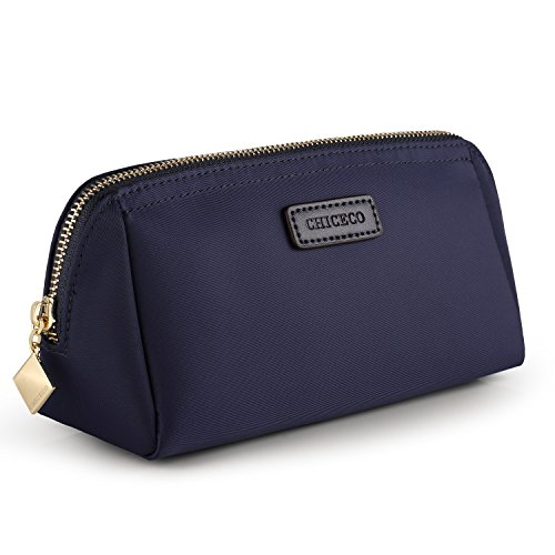 (CHICECO Handy Cosmetic Pouch Clutch Makeup Bag - Navy)