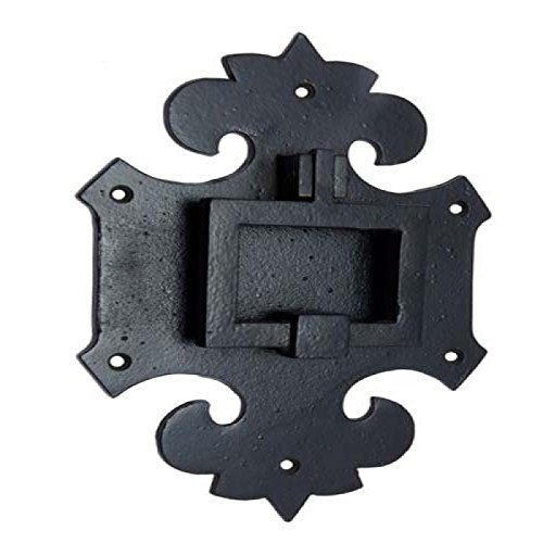 (Adonai Hardware Mnason Black Antique Iron Door Knocker)