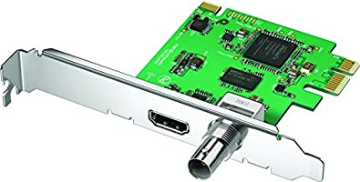 Blackmagic Design DeckLink Mini Monitor - PCIe Playback Card for 3G-SDI and HDMI