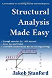 #10: Structural Analysis Made Easy: A practice book for calculating statically determined systems