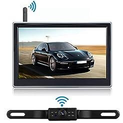 iStrong Backup Camera Wireless 5'' Monit...