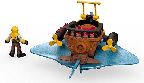 Fisher-Price Imaginext Captain Nemo & Stingray JungleDealsBlog.com