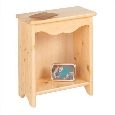 Little Colorado Toddler Bedside Stand, Soft (2 Drawer Youth Nightstand)