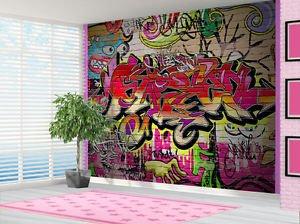 Graffiti Brick Wallpaper Wall Mural Kids Bedroom Graffiti 2xl