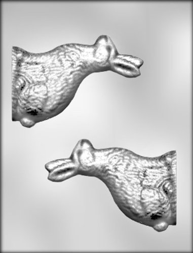 CK Products 5-Inch 3-D Side-View Bunny Chocolate (3 D Candy Molds)