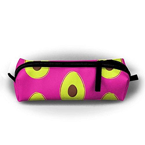 - Fashion Pencil Case Zipper Pen Pouch Avocado Fruit Cute Printing Student Small Pen Bag Rectangular Pouch