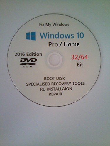 WINDOWS 7 32//64 2 DVDs /& Drivers Recovery ReInstall Repair Home Pro enterprise