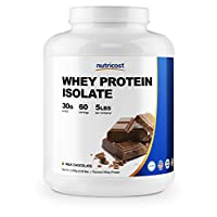 Nutricost Whey Protein Isolate Powder (chocolate con leche) 5LBS