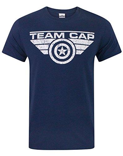 Captain America Civil War Team Cap Men's T-Shirt - America Shirt T Team