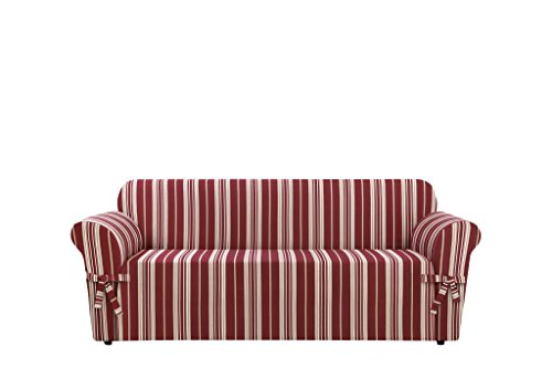 SureFit  Stripe Sofa Slipcover, Multicolored