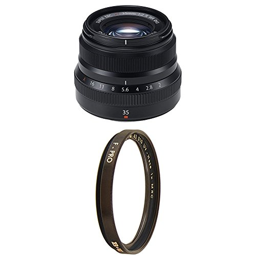 Fujinon XF35mmF2 R WR - Black with Multi-Resistant Coating