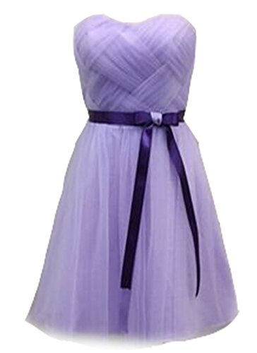 bis zu Cocktail kurz für Abendkleider Ball Abend Damen Hochzeit kleidungstücke Celebrity Damen Fashion Lilac Kleider New Weiblich Plissee Party grün flieder Band Schnürschuh emmani Sweetheart Heimkehr fqHP5wv5x