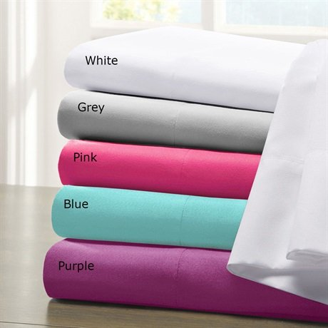 picture of Intelligent Design Microfiber 85GSM Sheet Set - Pink - Full