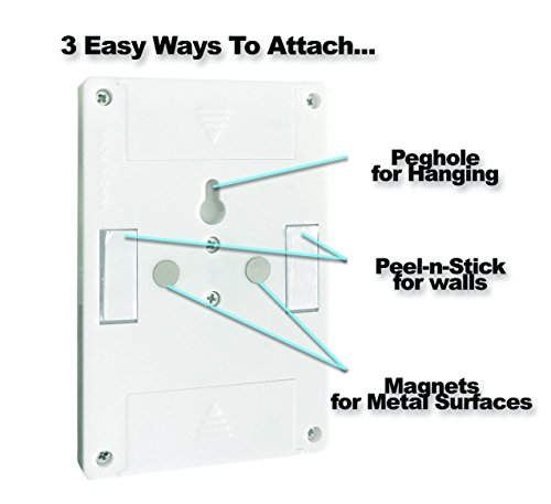 8-Pack - Super Bright Switch: Wireless Peel and Stick LED Lights - Tap Light, Touch, Night, Utility, Battery Operated, Under Cabinet, Shed, Kitchen, Garage, Basement by Super Bright (Image #6)