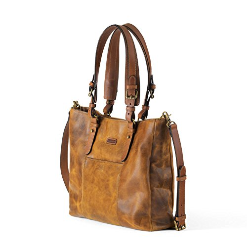 Ellington Handbags Aubrey Tote - With Crossbody Strap Whiskey