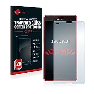 Savvies Vetro Temperato Compatibile con Sony Xperia Z3 Compact ...