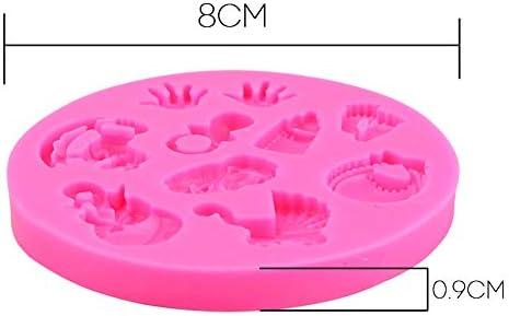 Baby Party Cake Molds Huellas de Bebé Cochecito Botella de ...
