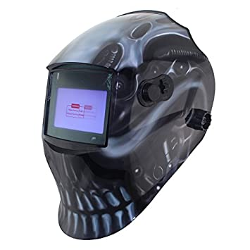 Ajustar el gran vista eara 4 arc sensor Solar corte pulido oscurecimiento automático máscara TIG soldadura MMA MIG/casco máscara DIGITALJIMS // soldador: ...