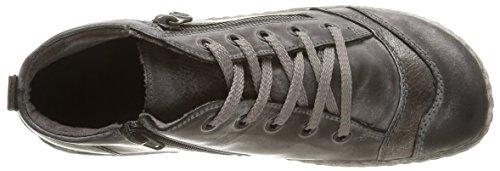 Remonte D3870 02, Sneakers Da Donna Grigie (negro / Argento Antico / Asfalto / 02)