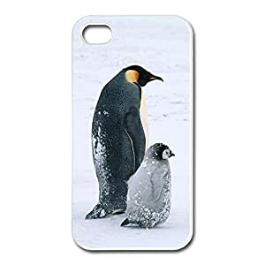IPhone 4 4s Case Skin Arctic Penguins Life,Personalize Your Own Love Cover For IPhone 4