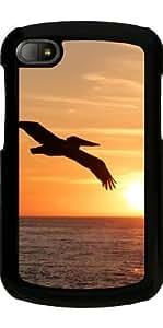 Funda para Blackberry BB Q10 - La Puesta Del Sol Con Los Pájaros by WonderfulDreamPicture