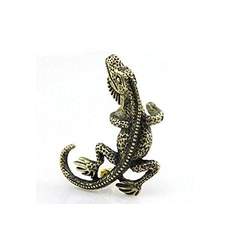 Bronze Metallic Lizard - 9