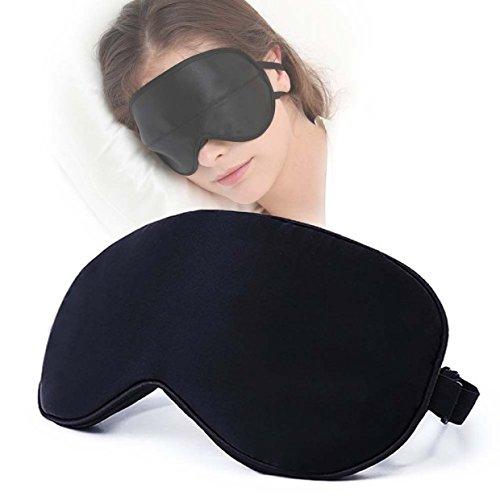 Alice Natural Sleep mask & Blindfold , 100% Silk Eye Mask , Super Soft with Adjustable Strap for A Comfortable Sleep, Ultimate Sleeping Aid, Blindfold, Blocks Light