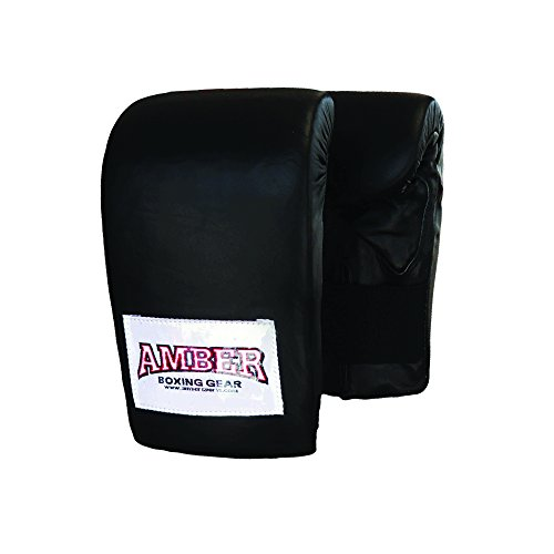 Deluxe Boxing Bag Gloves - AMBER Sporting Goods Deluxe Boxing Bag Gloves (Small)
