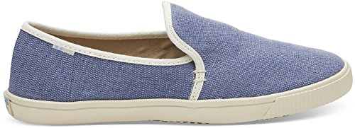 (TOMS Women's Clemente Flat Infinity Blue Heritage Canvas Size 9 B(M) US)