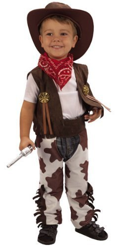 3 Years Toddler's Cowboy Costume -