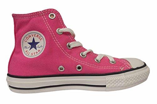 Converse Kids Boys Chuck Taylor All Star Seasonal Hi Fashion Sneaker Shoe, Mod Pink, 2.5