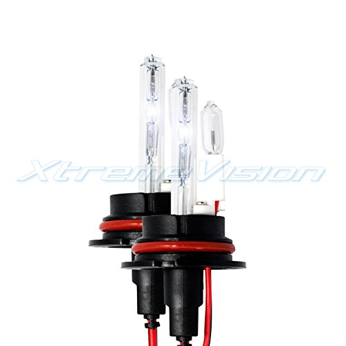 XtremeVision HID Xenon Replacement Bulbs - 9004 12000K - Purple (1 Pair) - 2 Year Warranty