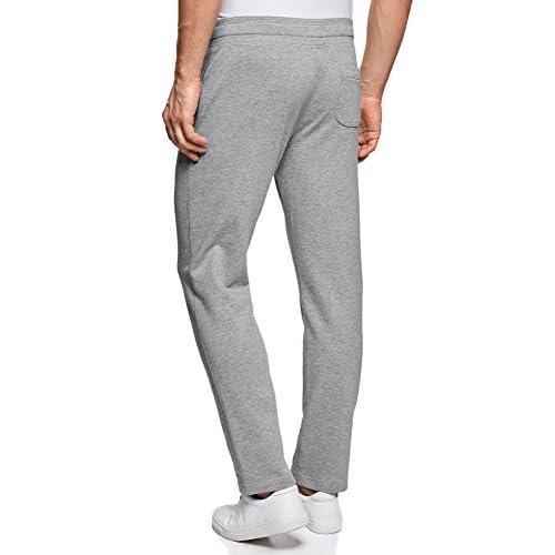 oodji Ultra Hombre Pantalones de Punto Básicos 6g4l7