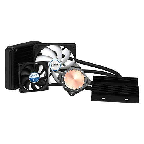 ARCTIC Accelero Hybrid III-120 (Generic), Graphics Card Liquid Cooler, 120 mm Radiator, High-End Backside Cooler, Dedicated VRM Cooling