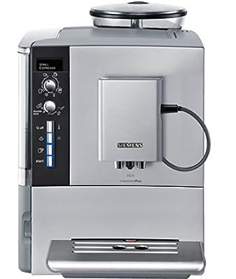 Siemens EQ.5 TE515201RW Super Fully Automatic Espresso Machine, Coffee Capuccino Latte Maker, OneTouch DoubleCup System, SIlver