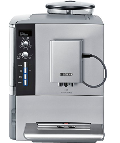 Siemens EQ.5 TE515201RW Super Fully Automatic Espresso Machine, Coffee Capuccino Latte Maker, OneTouch DoubleCup System, SIlver Siemens