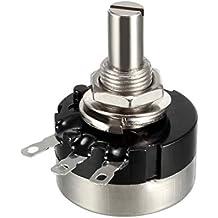 uxcell RV24YN20S Variable Resistors Single Turn Rotary Carbon Film Potentiometer
