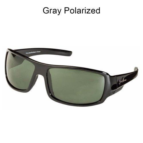 SolarBat Jimmy Houston 1 (Black, Gray - Bat Solar Sunglasses