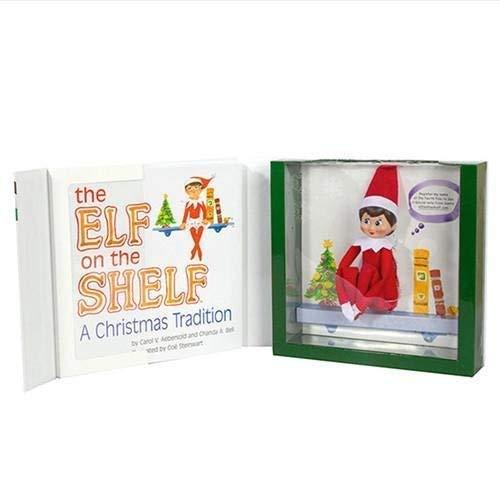 The Elf on the Shelf Christmas Tradition | Elf on the Shelf Girl, Light Tone, Blue Eyes | Christmas Elf