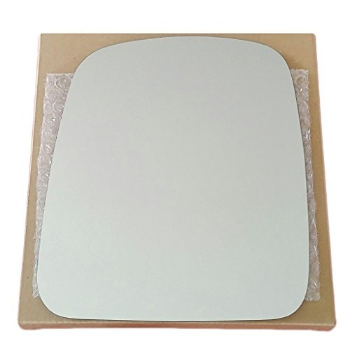 Mirror Glass and Adhesive | 03-08 Chevy Express / 03-08 GMC Savana Van Driver Left Side (Chevy Chevrolet Express 2500 Mirror)