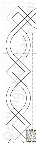 """3"""" Borders Made Easy Pattern"""