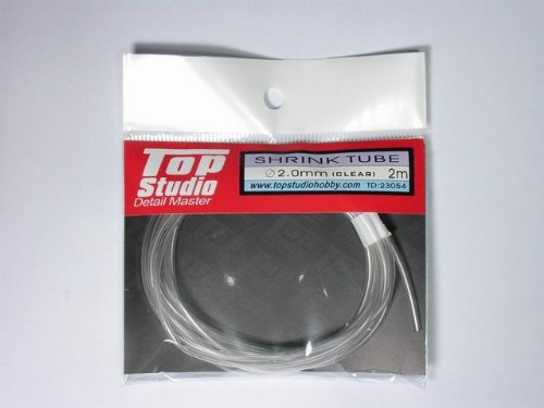 Top Studio shrink tube ƒÓ2.0 ~ 2m transparent heat-shrinkable hose TD23054