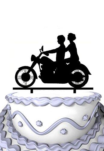 Motorcycle Cake Top - 8
