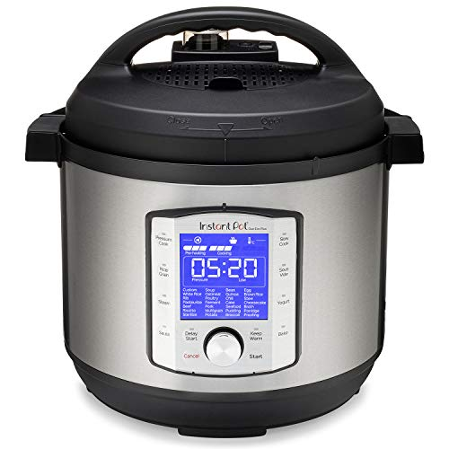 Instant Pot Duo Evo Plus Pressure Cooker 10 in 1, 8 Qt, Easy Grip Handles