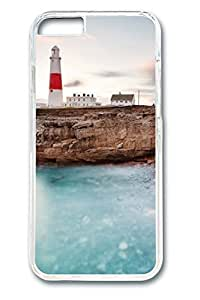 iPhone 6 Case - Lighthouse 2 Illustrators Series Protective Hard Clear Case Cover Skin For iPhone 6 (4.7 inch)