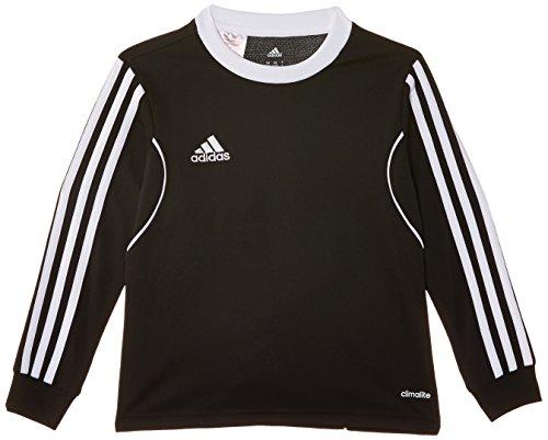 adidas Kinder Langarmshirt Squadra 13, Black/White, 128, Z20634