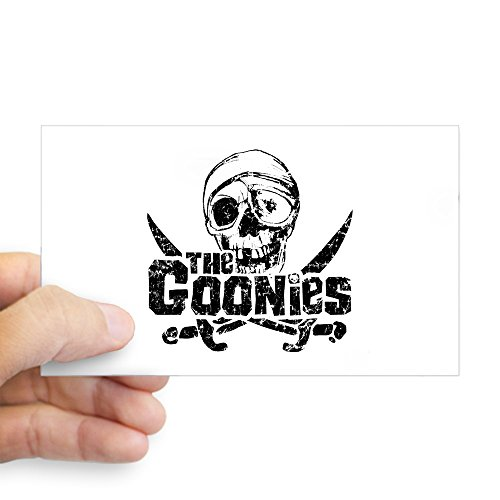 CafePress One Eyed Willie Goonies Rectangle Bumper Sticker Car Decal ()
